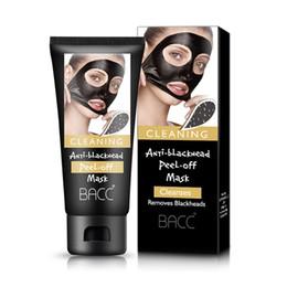 Removedores de espinillas negro Máscara de succión colágeno facialpilaten 50ml BACC Peeling purificante de limpieza Máscaras de Peeling de cara negra 3001106 desde fabricantes