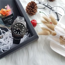 Wholesale Man Woman Watches Sets - Good quality automatic men and women watch dial with luxury gem-set 40 mm diameter ultra-thin design the use of imported quartz movement