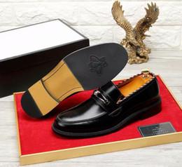 2019 bronzage de bronze Hommes chaussures de sport en cuir noir robe de mariée en cuir noir Derby chaussures de ville oxford chaussures en cuir brun pour homme promotion bronzage de bronze