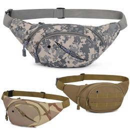 9fb45095e4 paquets militaires Promotion 2018 Champ De Pêche De Taille Sac En Nylon Camouflage  Militaire Tactique poitrine