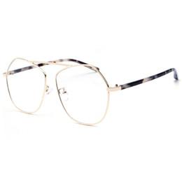 82d7a0f13a Cubojue Women s Glasses Men Irregular Polygon Eyeglasses Frame Star Fashion  Woman Female Oversized Clear Lens for Myopia Optica