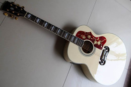 jazz leggero blu Sconti Chitarra elettrica Gibsonsj 200 chitarra acustica all'ingrosso con Fishmanpickups in 120323 naturale