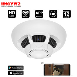 Wholesale Remote Access - WiFi Spy Camera Detector,DigiHero HD 1080P Camera Smoke Detector,Security Camera with Live Viewing and Recording