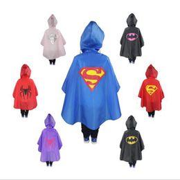Wholesale Girls Parkas - Raincoat For Children On Sale Kids Girl Boys Rain Coat Poncho Pluie Rainwear Hiking Cape Waterproof Suit Parka Chubasqueros