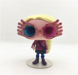 figura de mujer araña Rebajas Funko Pop New Harry Potter Luna Lovegood Figura de acción 9 cm Modelo de acción Moda Decoración del coche Personalidad Modelo de muñeca