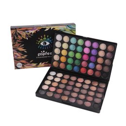 Wholesale Palette Warm Shimmer - POPFEEL 80 Colors Eyeshadow Palette Warm Earth Color Nude Cosmetics Eyes Shimmer and Matte Palette Eyeshadow Eyes Make Up 1203014