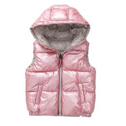 ba650af6211 ropa de invierno para chicas de año Rebajas Chaleco infantil Niños Abrigos  Abrigos de invierno Ropa