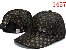Wholesale men visors - baseball cap 100% Cotton Luxury Design caps Embroidery hats for men 6 panel Black snapback hat golf sport casual visor gorras bone casquette