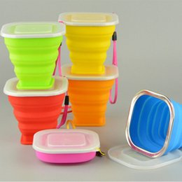 Wholesale Manufacturers Life - Manufacturers wholesale daily life silicone products with cup cover new folding cup silicone product customization