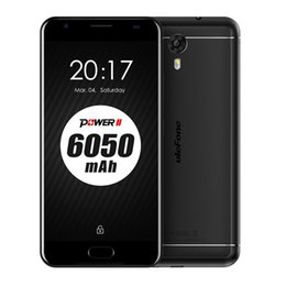 Wholesale Mobile Power Back - Ulefone Power 2 4GB RAM 64GB ROM 4G Android 7.0 MTK6750T Octacore Fingerprint 5.5inches Mobile Phone
