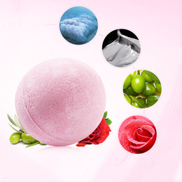 Wholesale Relax Bath - New Color Random Natural Bubble Bath Bomb Ball Essential Oil Handmade SPA Bath Fizzy Gift for Her Relaxing Ball Top Quality