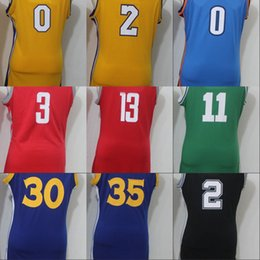 Wholesale Hd Purple - Lady Basketball Jersey StEpHen CuRRy Kevin Durant Kyle Kuzma Lonzo Ball Chris Paul JM HD Kyrie Irving Kawhi Leonard Russell Westbrook Jersey