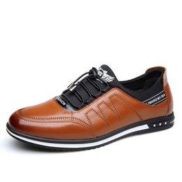 2019 cuoio pizzo scarpe guida Scarpe da uomo Scarpe da uomo in vera pelle  Scarpe casual 7857828688b