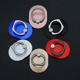 Anillo de dedo Soporte de anillo de teléfono móvil Soporte de metal Anillo perezoso Hebilla Soporte de teléfono móvil Soporte de 360 grados Soporte para todos los teléfonos inteligentes desde fabricantes