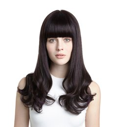 Wholesale Human Hair Lace Wigs White - 150 Density Full Lace Human Hair Wigs For Black White Women With Baby Hair Brazilian Remy Hair Pre Full Lace Wig Natural Color Curls 1B #
