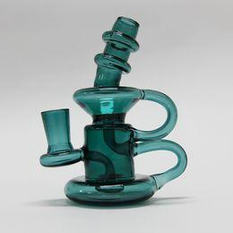 Wholesale Custom Glass Free Shipping - Glass Bongs Mini Bong Removable Downstem 14.4mm Oil Rig Joint Glass Water Pipes Beaker Bong Custom Made Free Shipping