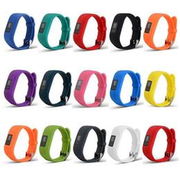 2019 sostituzione di garmin vivofit Nuova cinturino morbido in silicone per orologio da polso di ricambio per Garmin Vivofit3 Vivofit 3 Smart Watch sconti sostituzione di garmin vivofit