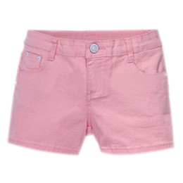 Wholesale Candy Color Jeans - Wholesale- Summer Denim Shorts Slim Fit Candy Color Short Pants Short Jeans Women Shorts Denim