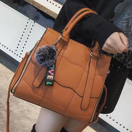 362ded7ace16 European style Retro Big Tote bag Women s Designer Handbag 2018  High-quality PU Leather Women bag High-capacity Shoulder bags