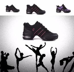 Wholesale girls hip hop dancewear - Women Girls Dance Sneakers Comfy Jazz Hip Hop Sports shoes Breathable Dancewear