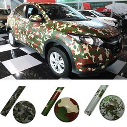 2019 camuflagem 50 * 300 Corpo Do Carro Camuflagem de Vinil Envoltório Super Fresco Camo Car Bicicleta Laptop Adesivos de Escritório Em Casa para o Carro Exterior Interior Styling camuflagem barato