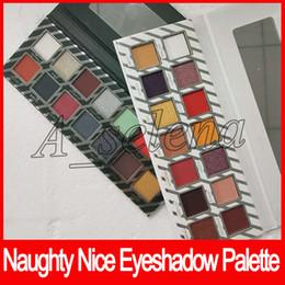 Eligiendo la sombra de ojos online-2017 New Holiday Edition Bundle Naughty Nice Paleta de sombra de ojos para regalo de Navidad 14 colores Paleta de sombra de ojos Elija su paleta