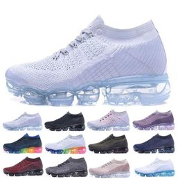 Wholesale Men Airs - Vapormax Running Shoes 2018 Men Air Casual Sneakers Women Sports Shoes Vapor Outdoor Hiking Jogging Walking Athletic Sneakers 36-45
