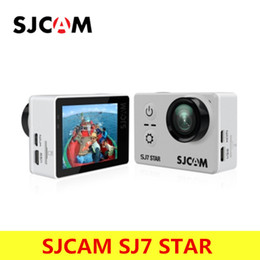 controles remotos de dv sport Rebajas Cámara original SJCAM SJ7 Star 4K 30fps Ultra HD SJCAM Acción Ambarella A12S75 2.0