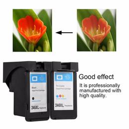 2019 impressoras samsung Freeshipping Profissional PG 245 Tinteiros de Impressão Compatíveis Para Canon 246XL 245XL cartuchos compatíveis além de um terno de cor preta