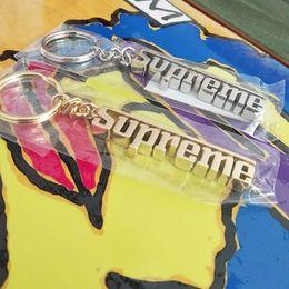 Wholesale Grand Chain - Supre fw16 Grand Prix Keychain 3D key chain