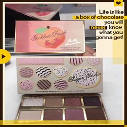 Biscoitos feitos on-line-Dropshipping New lançado Sugar Cookie ou Tickled Peach Mini Eyeshadow Compõem Palette Holiday Chirstmas paleta de sombra 8color