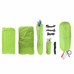 Кемпинговая палатка онлайн-Outdoor Tent 20D Silicone Fabric Ultralight 3 Person Double Layers Aluminum Rod Camping Tent 4 Season With Mat Hot Selling