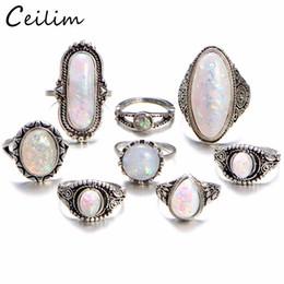 de3868846001 8 unids   lote encanto anillo de dedo de Midi color oro Set Vintage Boho  Knuckle anillos del partido para mujeres regalo de la joyería punky 2018  venta al ...