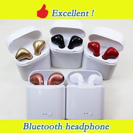 2019 le cuffie delle scarpe Auricolari Bluetooth I7S i8x i9s TWS Twins Auricolari Auricolari wireless Auricolari con microfono Stereo V5.0 per iPhone Android PK AirPods i10
