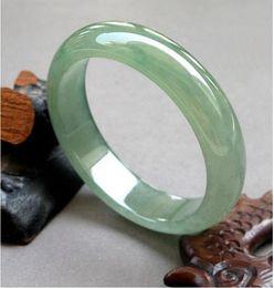 Jade verde-gelo on-line-Pulseira de jade natural jade pulseira de jade verde pulseira de jade tipos de gelo aqua