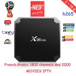 2019 мини-миль на галлон Французский арабский испанский Neotv IPTV подписка Neopro 1800 канал 2000 фильм для огня TV stick применить чемпионат мира по футболу 2018 X96 мини скидка мини-миль на галлон