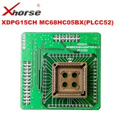 Wholesale United Toyota - XHORSE XDPG15CH MC68HC05BX PLCC52 Adapter Working Together With VVDI PROG for Free Shipping to United States