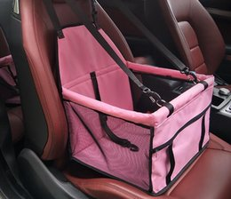 Wholesale safe products - Pet Dog Carrier Car Seat Pad Safe Carry House Cat Puppy Bag Car Travel Accessories Waterproof Dog Seat Bag Basket Pet Products