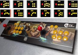 Wholesale Arcade Games Pc - HOT SALE! Double arcade PC game joysticks Fighters rocker rocker lengthened USB port without delay Games controller Gamepads