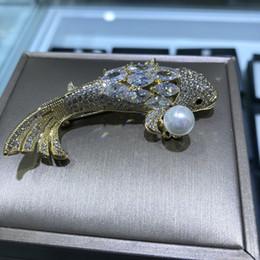 2019 joyería de calamar Nueva Perla de agua dulce Calamar Broches Joyería  Para Mujer 2018 Moda be9e3fa0d51