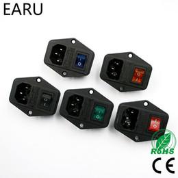 Haute qualité Noir Rouge 10A AC 250V 3 Borne d'alimentation avec porte-fusible Commutateur à bascule NOUVEAU Cordon d'alimentation Entrée Prise de courant ? partir de fabricateur