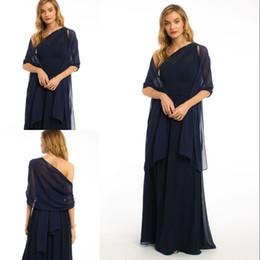 Chal para vestido azul noche