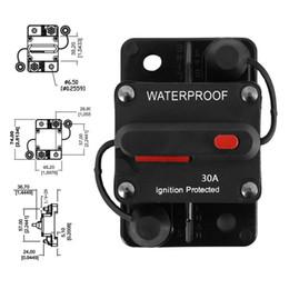 audi a6 lcd Rabatt 30-200 Ampere Leistungsschalter-Überspannungsschutz-wasserdichter Unterputz schaltbar mit manueller Rückstellung für Auto-LKW-Boot DHL-UPS geben Verschiffen frei