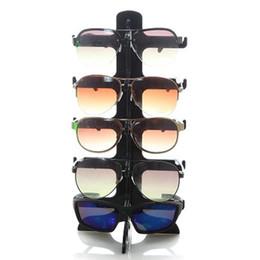 98a9c8e0e517b 5 Camadas de Óculos De Sol De Plástico Quadro Display Stand Óculos  Eyeglasses Coloridos Eyewear Contador Show Stands Rack Titular balcões    venda