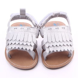 tendência de sapatos abertos Desconto Venda quente Tendência Do Verão Do Bebê Sapatos Femininos 0-1 Anos de Idade Do Dedo Do Pé Aberto 6-12 Meses de Fundo Macio Não-Deslizamento Criança Sapatos Princesa