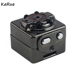 Wholesale mini s video - KaRue S Q8 10PCS Mini Digital Video Camera Infrared Night Vision Sport Micro Cam Motion Detection Camcorder DV Video voice