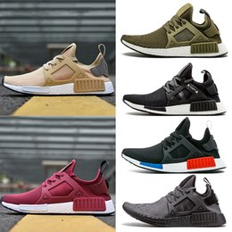 52750134d5252 New Arrival Rose Red NMD XR1 Running Shoes Wine Mastermind Japan Olive  green Camo OG Classic mens women sports Sneskers Designer Shoes 36-45