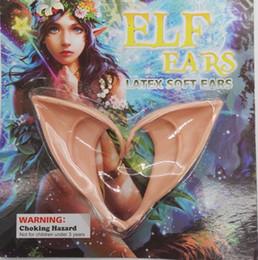 Deutschland 1 Paar Elfen Ohren Halloween Party DIY Cosplay Dekorationen Fee Ohr Latex Gefälschte Ohren Halloween Weihnachtsfeier Kostüm Requisiten Versorgung