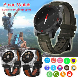 Wholesale Wrist Wach - Luxury N10 Smart Watch Outdoor Sport Smartwatch with Heart Rate Monitor Compass Waterproof Wach For iphone IOS Android 4.3