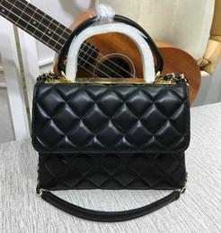 13 Colors Women's Genuine Leather Chain Shoulder Bag Flap Handbag Brand Fashion Trendy Hand Bag ? partir de fabricateur